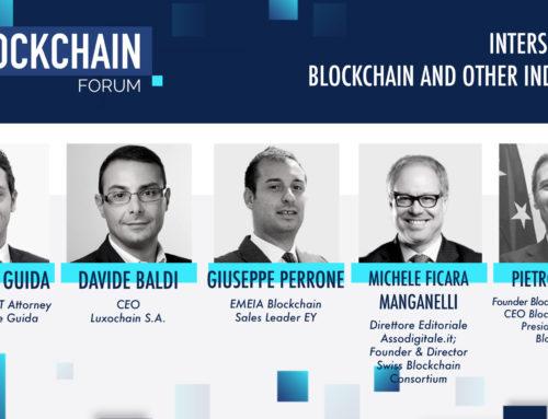 Gianluigi Guida at the Blockchain Italia Forum 2020